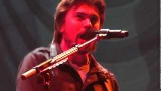 Juanes - La Camisa Negra LIVE UNPLUGGED TOUR Vilnius, Lithuania 07.11.2012 Siemens arena HQ