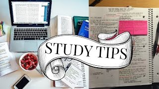 STUDY TIPS! - Motivation, to plan and more.