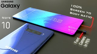 Samsung Galaxy Note 10 with S-Pen Camera: Trailer Concept Video