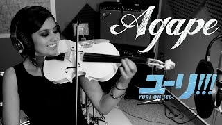 AGAPE (Yuri on Ice) ❤  VIOLIN ANIME COVER!