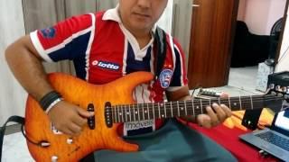 """Solo de guitarra da música """"Milla"""" na versão de """"Netinho"""""""