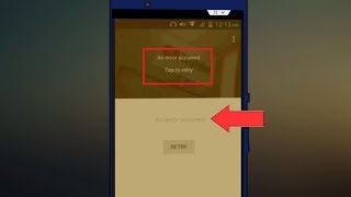 How to Fix An Error Occurred Error of Youtube in Android