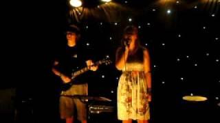Jonas and Stephanie performing Weak from Skunk Anansie Acoustic