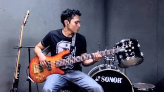 Jazz the Roots Libertad feat Guanaco MC (bass cover)