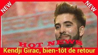 Kendji Girac, bientôt de retour avec un nouvel album : « Je ressens un peu de stress avant la