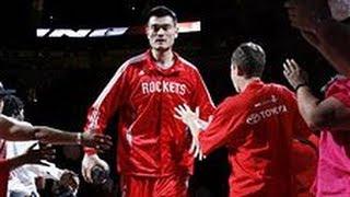 Yao Mings Top 10 Plays of his Career width=