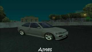 Escort cosworth no GTA San Andreas