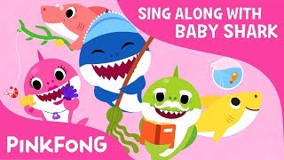 The Shark Family | Sing along with baby shark | Pinkfong Songs for Children