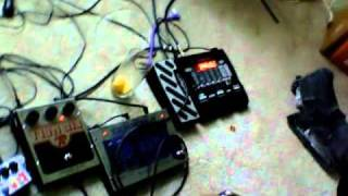 LFO controlled Whammy on the Digitech RP355