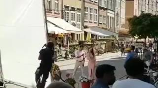 Leaked! Mersal Shooting Spot Leaked Video | Vijay and Kajal Aggarwal Dancing For #Macho Song