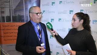 Cycle de conférences du Groupe Le Matin :  Déclaration de  Hamid Ben Hamdouch, trésorier régional de Casablanca