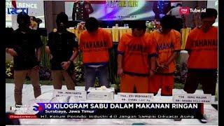 Pengedar 10 Kg Sabu dalam Makanan Ringan Ditangkap Polisi - SIM 28/12