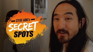 The Picasso Mansion (w/ Florian Picasso) - Steve Aoki's Secret Spots #1