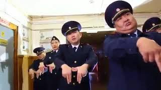 Полицейские из Амгинского района Якутии сняли танцевальный клип ко Дню сотрудника органов внутренних