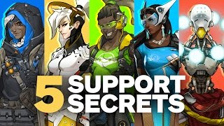 5 Secrets about Overwatch's Support Heroes by Jeff Kaplan (Feat. Unseen Development Footage.)