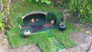 Build Secret Swimming Pool Underground