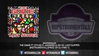 The Game Ft. Styles P, Jadakiss & AR-16 - Last Supper [Instrumental] (Prod. By DJ Pain 1) + DL