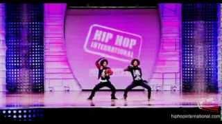 LES TWINS  France 2012 World Hip Hop Da