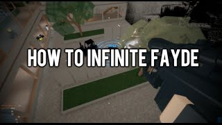 PHANTOM FORCES || HOW TO INFINITE FAYDE (Tutorial)