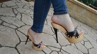 Stiletto Clogs - High Heel Clogs
