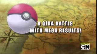 Title Card | A Giga Battle With Mega Results | Pokemon S19 EP03