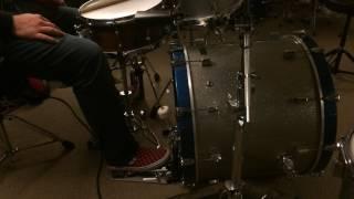 Bonham Single Pedal Triplets - Good Times Bad Times