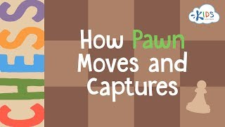 Chess: How Pawn Moves and Captures