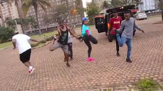 Babes Wodumo ft Mampintsha ~ Gandaganda Dance Challenge