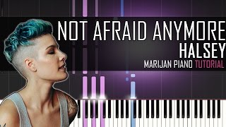 How To Play: Halsey - Not Afraid Anymore (Fifty Shades Darker) | Piano Tutorial