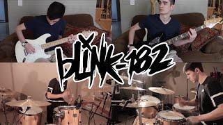 Blink 182 - She's Out Her Mind (Guitar, Bass, & Drum Cover feat. Michael McKerracher)