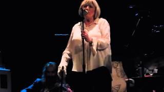 "Marianne Faithfull - ""The ballad of Lucy Jordan"" (extract) - 07/10/2015 - Paris, Le Trianon"