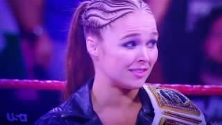 Ronda Rousey Botches Promo