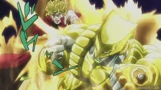 JOJO - All DIO's Time Stop [HD]