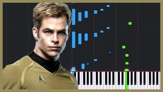 London Calling - Star Trek Into Darkness [Piano Tutorial] (Synthesia) // Logan Dougherty