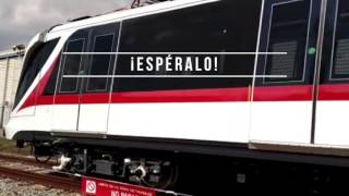 El Tren de la Línea 3 realiza primeras pruebas en los talleres donde son fabricados