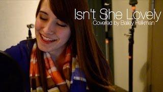 Isn't She Lovely - Stevie Wonder (cover)