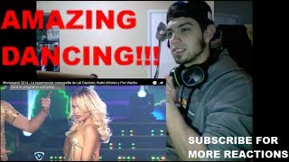 Lali Esposito Amazing Dancing (REACTION)
