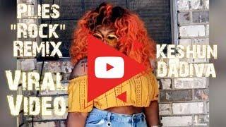 """Plies - """"Rock"""" Remix by Keshun DaDiva - He is MY ROCK OCK OCK OCK💪🏽🙏🏽💖🎵"""