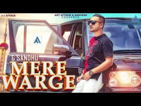 MERE WARGE  LYRICS - G Sandhu