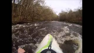 Vyrnwy gorge to broken weir 28 12 15