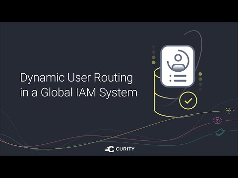 Dynamic User Routing in a Global IAM System