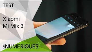 Xiaomi Mi Mix 3 : un smartphone coulissant et convaincant