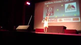 Bella singing in Northern Az Got Talent Tomorrow by Annie