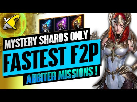*NEW RECORD* Fastest FTP Arbiter | Mystery Shards Only | SBK Clone Showcase | RAID: Shadow Legends