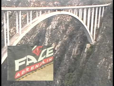 My Bungee Jump off Bulkrans Bridge South Africa 216m!!!