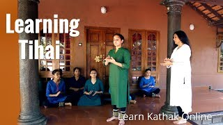 Energy Packed Tihai Learning Session | Guru Pali Chandra with Her Student Maithili Patel