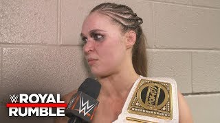 "Ronda Rousey doesn't like Sasha Banks saying ""Four Horsewomen"": WWE Exclusive, Jan. 27, 2019"