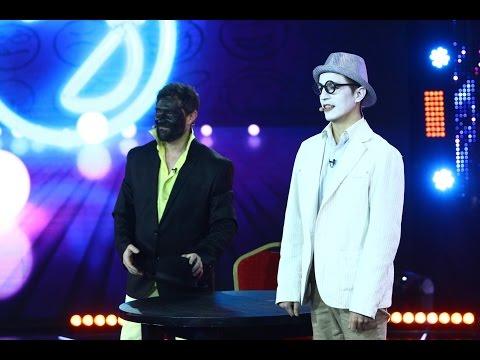Adrian Mirea și Cristian Tomșa, moment comic pe scena iUmor