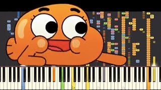 IMPOSSIBLE REMIX - I'm On My Way - The Amazing World Of Gumball - Piano Cover