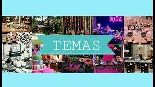 Vários Temas/Ideias para FESTAS DE ANIVERSÁRIO de 5 a 18 anos